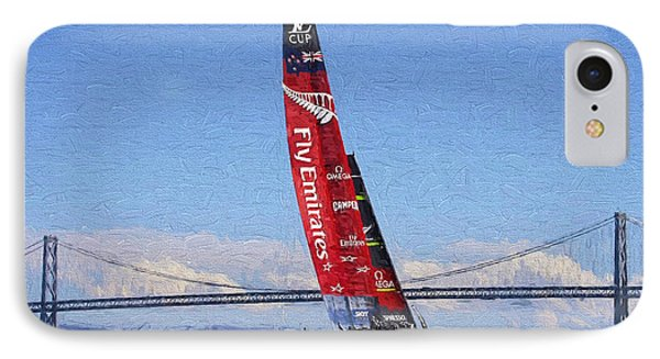 America's Cup IPhone Case by Garland Johnson