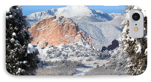 America's Mountain IPhone Case by Eric Glaser