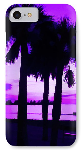 IPhone Case featuring the photograph Amethyst Beach Sunset by Aimee L Maher Photography and Art Visit ALMGallerydotcom