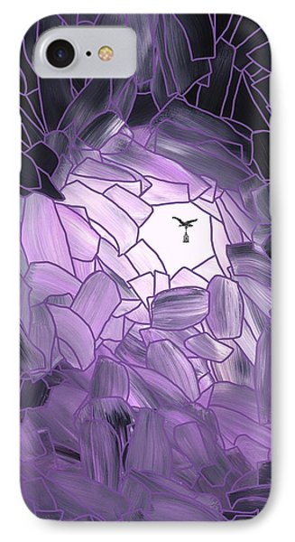 Amethyst Cave IPhone Case