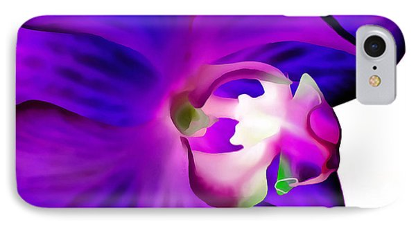 Amethyst Orchid IPhone Case by Krissy Katsimbras