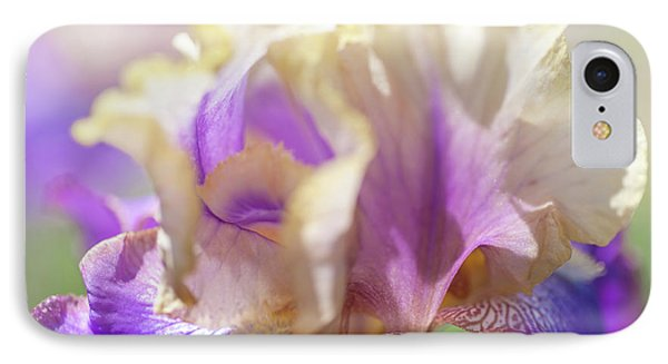 Amigos Guitar 2. The Beauty Of Irises IPhone Case