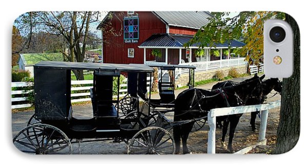 Amish Country Horse And Buggy IPhone Case