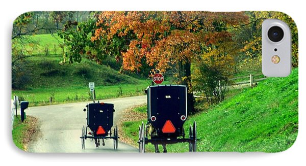 Amish Country In Autumn Ohio Holmes County IPhone Case