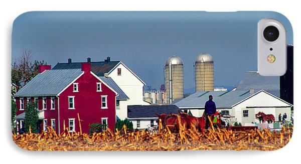 Amish Farm Phone Case by Thomas R Fletcher