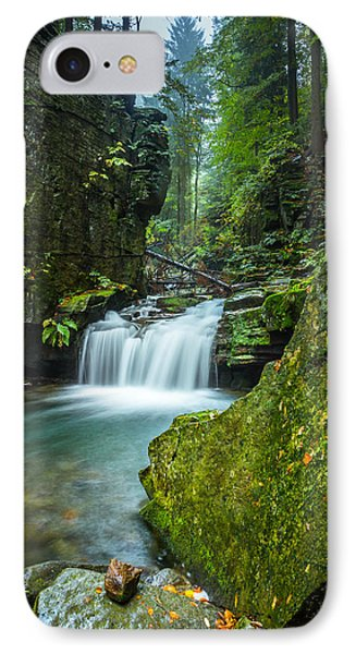 Among The Green Rocks IPhone Case by Dmytro Korol