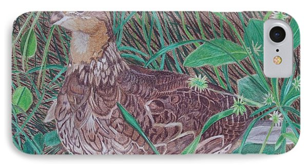 Among The Thistles IPhone Case