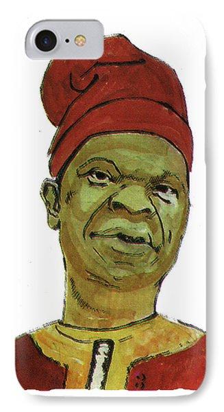 Amos Tutuola IPhone Case by Emmanuel Baliyanga