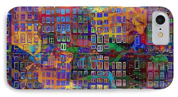 Amsterdam Abstract IPhone Case by Jacky Gerritsen