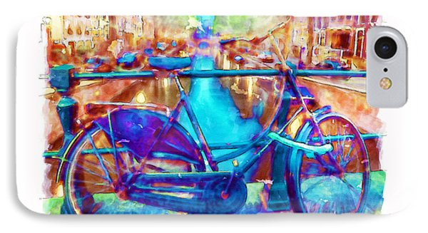 Amsterdam Bicycle IPhone Case by Marian Voicu