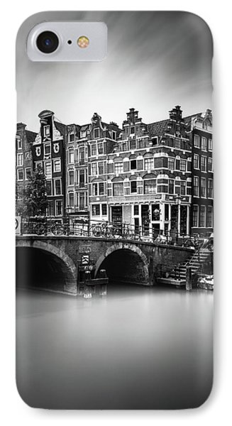 Amsterdam, Brouwersgracht IPhone Case by Ivo Kerssemakers