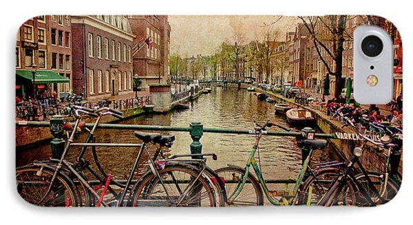 Amsterdam Canal IPhone Case by Jill Smith