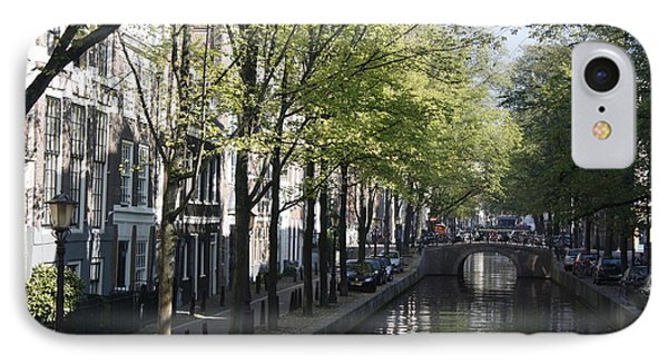 Amsterdam Canal IPhone Case by Wilko Van de Kamp