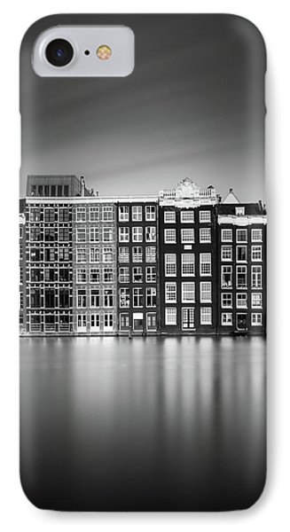 Amsterdam, Damrak I IPhone Case by Ivo Kerssemakers