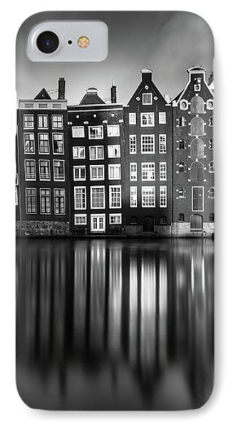 Amsterdam, Damrak II IPhone Case by Ivo Kerssemakers