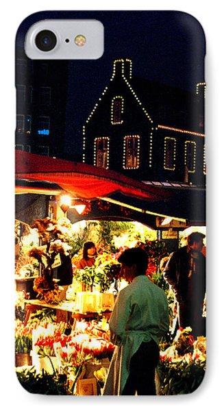 Amsterdam Flower Market Phone Case by Nancy Mueller
