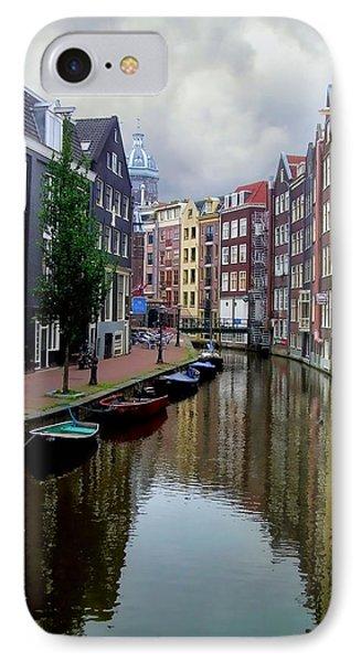 Amsterdam Phone Case by Heather Applegate