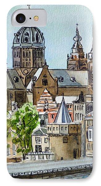 Amsterdam Holland Phone Case by Irina Sztukowski