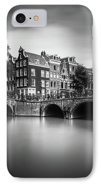 Amsterdam, Leliegracht IPhone Case by Ivo Kerssemakers
