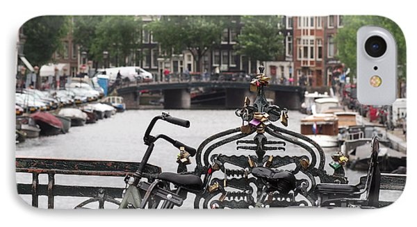 Amsterdam IPhone Case by Rona Black