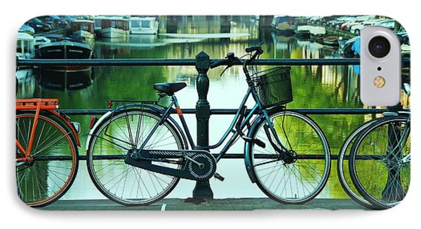 IPhone Case featuring the photograph Amsterdam Scene by Allen Beatty