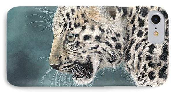 Amur Leopard Cub Phone Case by Clive Meredith