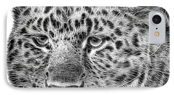 Amur Leopard IPhone Case by John Edwards