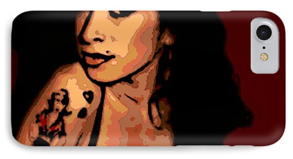 Amy 2 Phone Case by George Pedro