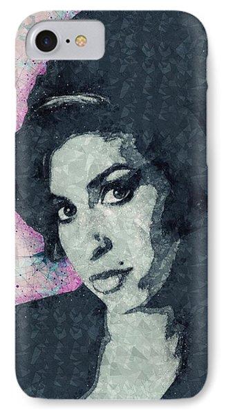 Amy Winehouse Illustration IPhone Case
