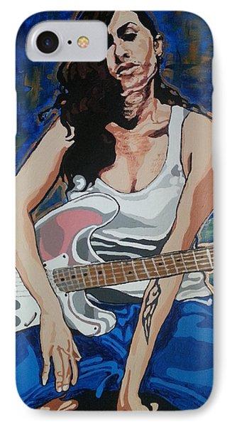 Amy Winehouse Phone Case by Rachel Natalie Rawlins