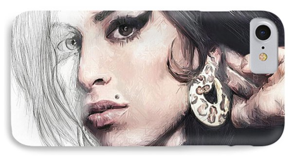 Amy Winehouse Unfinished Journey  IPhone Case