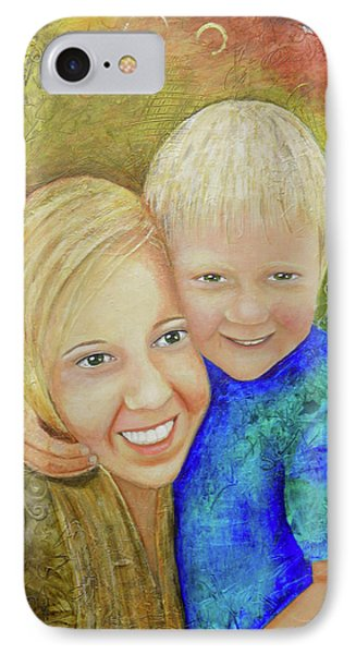 Amy's Kids IPhone Case by Terry Honstead
