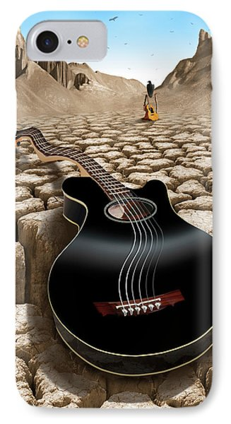 An Acoustic Nightmare 2 IPhone 7 Case by Mike McGlothlen