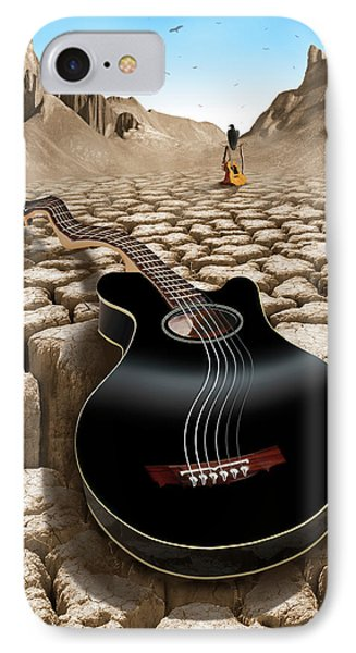 An Acoustic Nightmare 2 IPhone Case by Mike McGlothlen