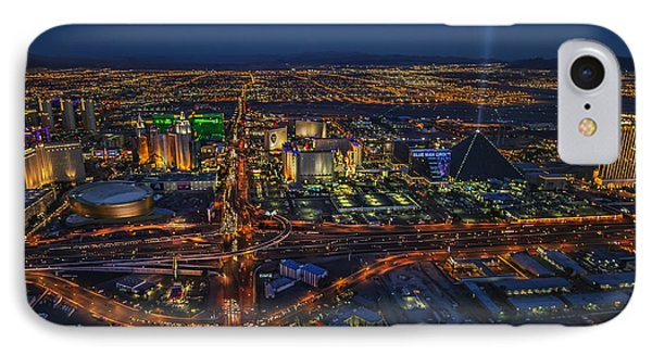 An Aerial View Of The Las Vegas Strip IPhone Case