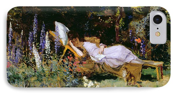 An Afternoon Nap Phone Case by Harry Mitten Wilson