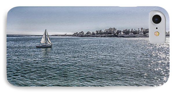 An Afternoon Sail IPhone Case by Mary Chris Hines