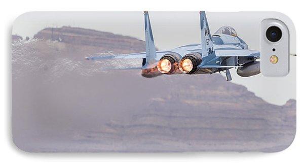 An Aggressor F-15c Eagle Of The U.s IPhone Case