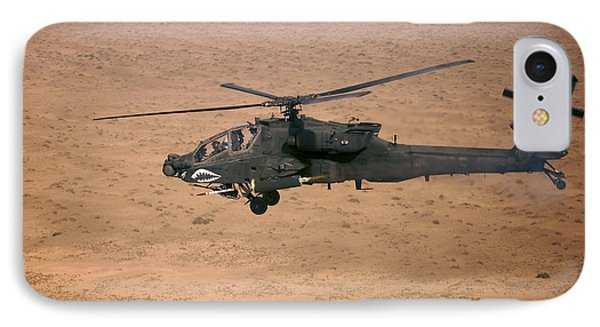 An Ah-64d Apache Longbow Fires A Hydra Phone Case by Terry Moore