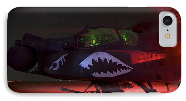 An Ah-64d Apache Longbow Phone Case by Terry Moore