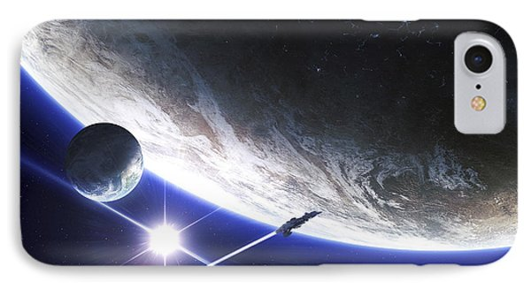 An Alien Patrol Zooms IPhone Case
