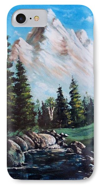 An Alpine Stream IPhone Case by Megan Walsh