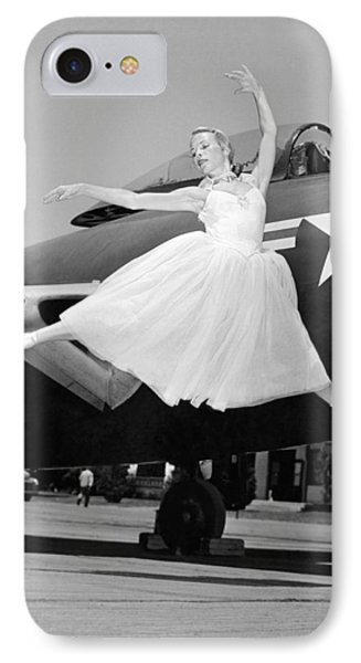An American Ballerina IPhone Case by Underwood Archives