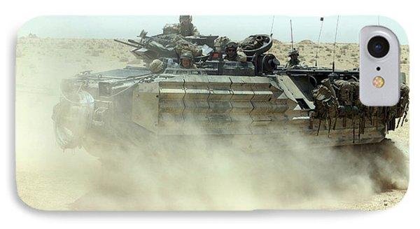 An Amphibious Assault Vehicle Kicks Phone Case by Stocktrek Images