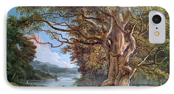 An Ancient Beech Tree Phone Case by Paul Sandby