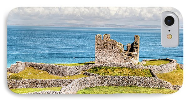 An Ancient Irish Castle IPhone Case by Natasha Bishop