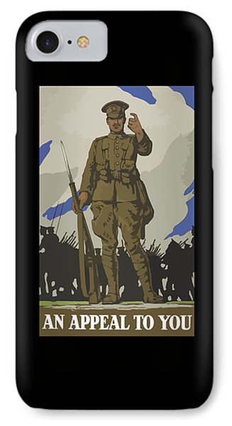 An Appeal To You IPhone Case by War Is Hell Store