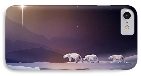 An Arctic Holiday IPhone Case