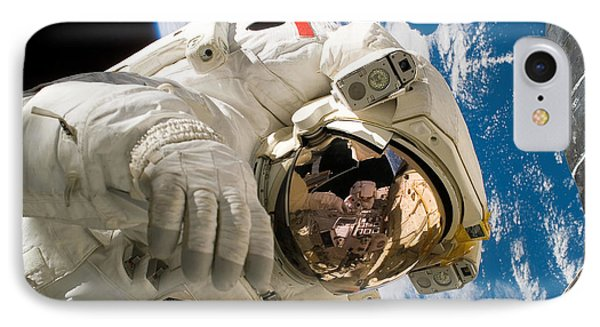 An Astronaut Mission Specialist Phone Case by Stocktrek Images