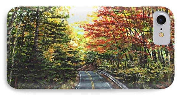 An Autumn Day IPhone Case by Shana Rowe Jackson
